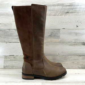 Sorel Emelie Tall Premium Waterproof Boots Pull Up